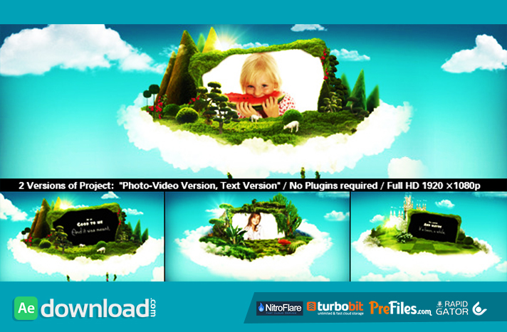 download template after effect cs4 - wonderworld videohive template free download free