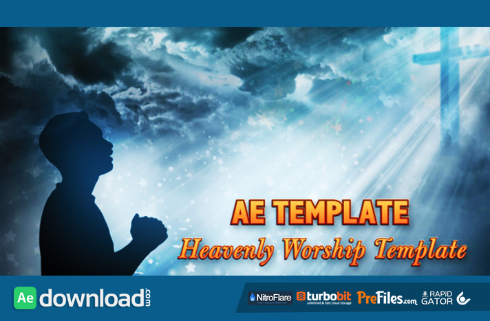 Worship Heaven - Title Opener Free Download After Effects Templates