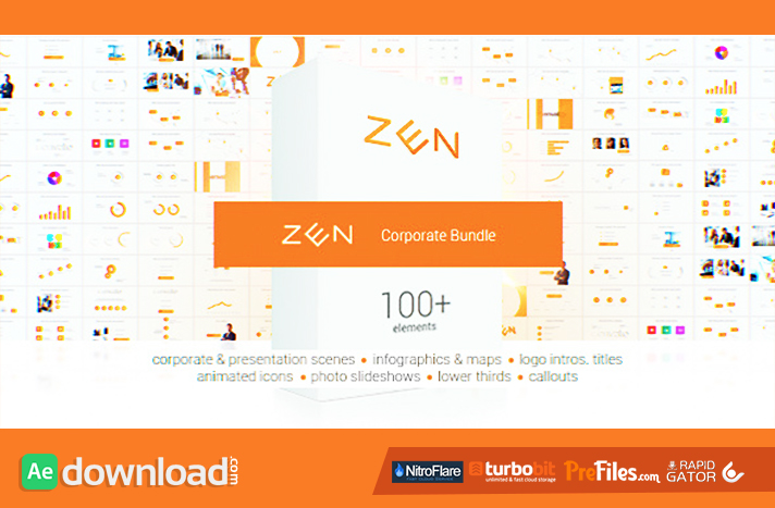 Zen Presentation Bundle Free Download After Effects Templates