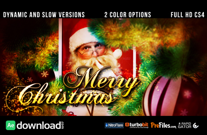 christmas slideshow Free Download After Effects Templates