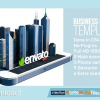 IBUSINESS PHONE – IPHONE 5S AND ANDROID APP PROMO (VIDEOHIVE PROJECT) – FREE DOWNLOAD