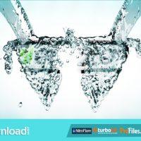 VIDEOHIVE WATER SPLASH LOGO REVEAL – FREE DOWNLOAD