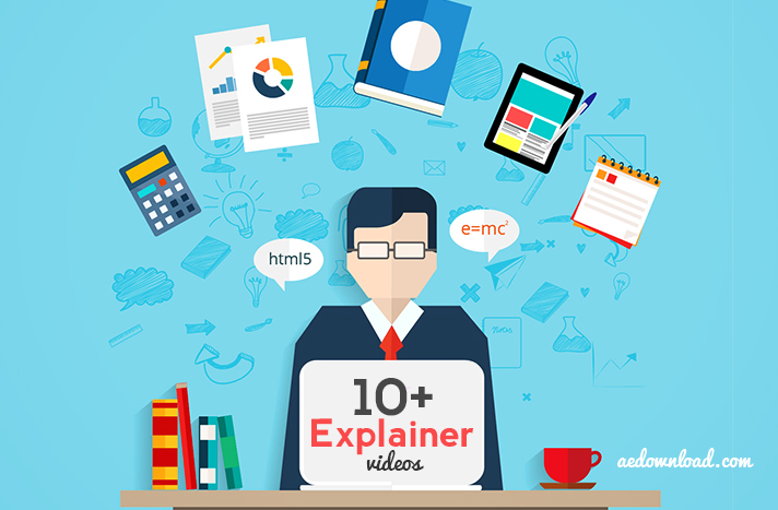 10 best free explainer video after effects templates