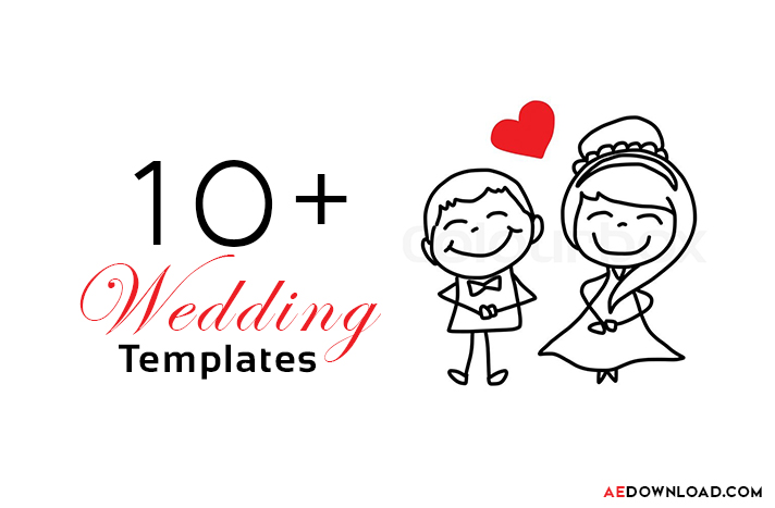 After Effects Wedding Templates - Free Tempates Download