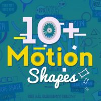 10+ Motion Shapes Free  After Effects Templates