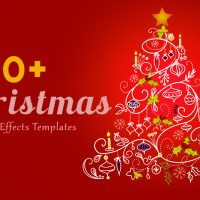 30 Top Christmas After Effects Free Template