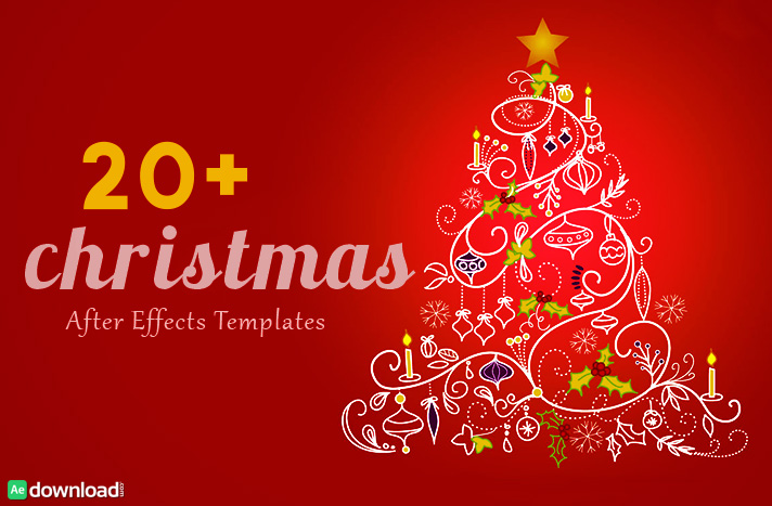 20+ Best Christmas After Effects Free Template