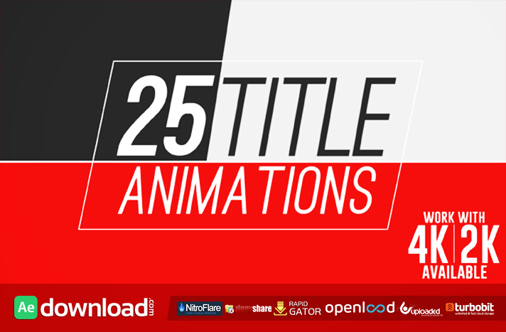 25 Title Animations