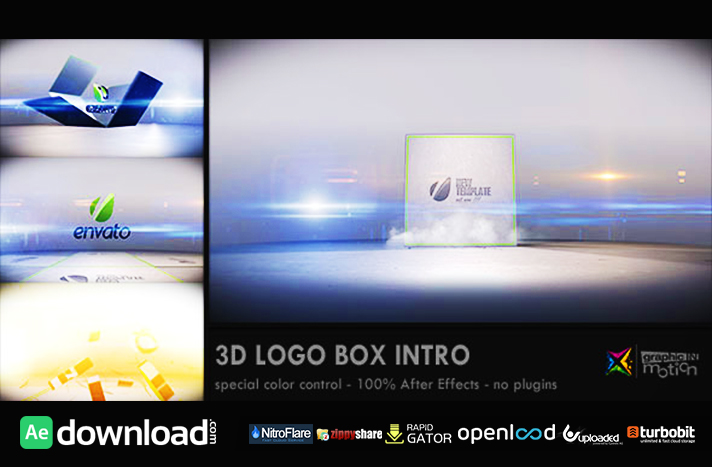 3D LOGO BOX INTRO (VIDEOHIVE PROJECT) FREE DOWNLOAD - Free After