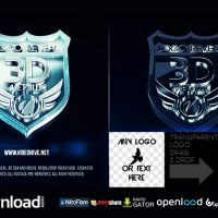 3D METALLIC LOGO VIDEOHIVE TEMPLATE FREE DOWNLOAD