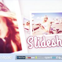CLEAN 3D SLIDESHOW VIDEOHIVE TEMPLATE FREE DOWNLOAD