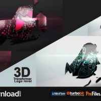 3D TRANSFORMER LOGO (VIDEOHIVE PROJECT) FREE DOWNLOAD
