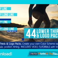 44 LOWER THIRDS TITLES & LOGO PACKS (VIDEOHIVE PROJECT) FREE DOWNLOAD