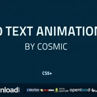 90 TEXT ANIMATIONS (VIDEOHIVE PROJECT) FREE DOWNLOAD