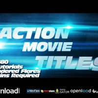 ACTION MOVIE TITLES VIDEOHIVE TEMPLATE FREE DOWNLOAD