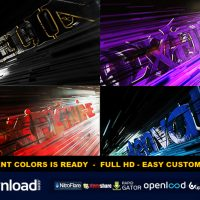AGGRESSIVE LOGO REVEAL VIDEOHIVE TEMPLATE FREE DOWNLOAD