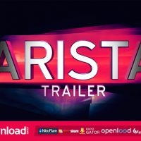 ARISTA TRAILER – FREE VIDEOHIVE TEMPLATE