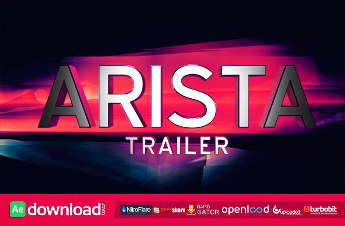 Arista Trailer free download (videohive template)