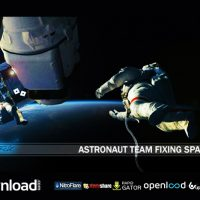 ASTRONAUT TEAM FIXING SPACE STATION (VIDEOHIVE PROJECT) FREE DOWNLOAD