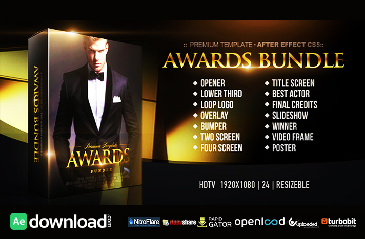 AWARDS BUNDLE FREE DOWNLOAD| VIDEOHIVE TEMPLATE - Free After Effects ...
