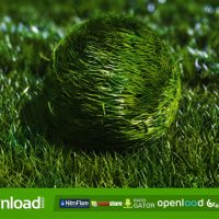 BOUNCY GRASS BALL LOGO REVEAL VIDEOHIVE PROJECT – FREE DOWNLOAD
