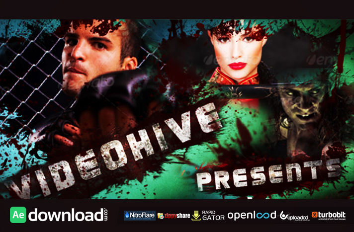 Blood Action Trailer free download (videohive template)