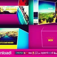MOVIE OPENER TRAVEL BOX – FREE VIDEOHIVE TEMPLATE