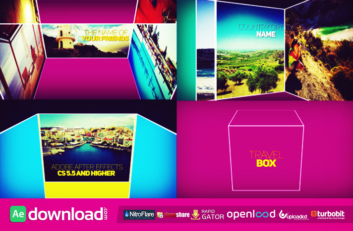 Box Opener free download (videohive template)
