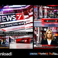 BROADCAST DESIGN – COMPLETE NEWS PACKAGE 7 (VIDEOHIVE PROJECT) FREE DOWNLOAD
