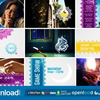 BROADCAST IDENT PACKAGE – RAMADAN SPECIAL VIDEOHIVE FREE TEMPLATE