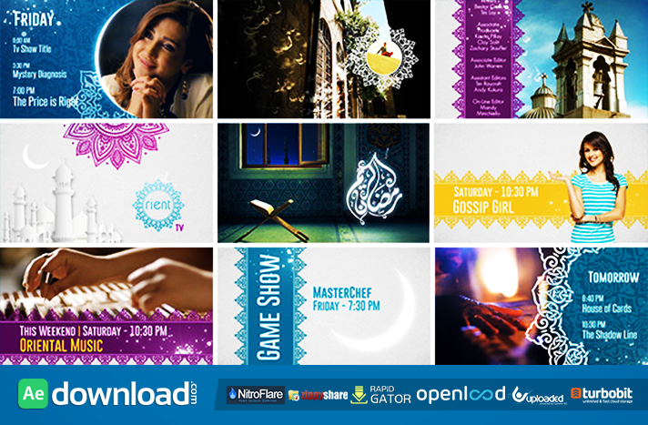 Broadcast Ident Package - Ramadan Special