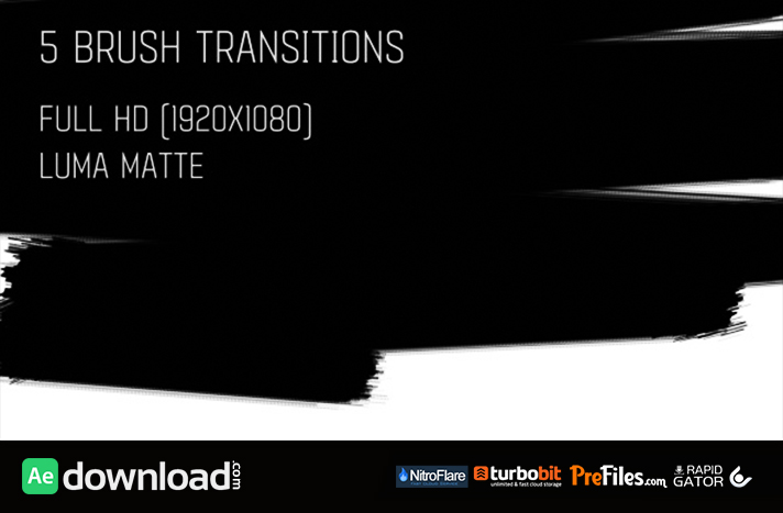 Brush Transitions Pack1
