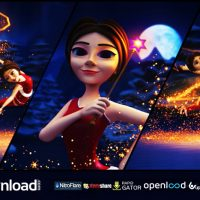 CHRISTMAS FAIRY GREETINGS VIDEOHIVE TEMPLATE FREE DOWNLOAD