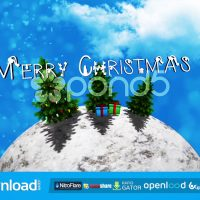 CHRISTMAS WORLD POND5 TEMPLATE