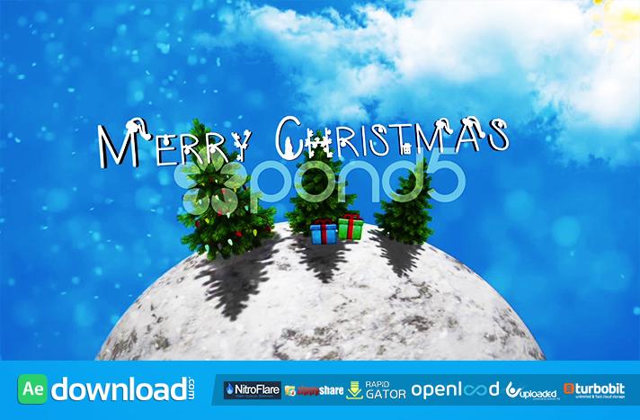 CHRISTMAS WORLD POND5 TEMPLATE