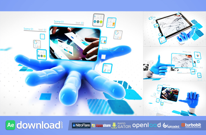 Catch your network free download (videohive template)