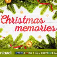 CHRISTMAS MEMORIES FREE DOWNLOAD VIDEOHIVE PROJECT