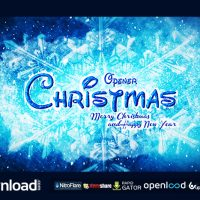 CHRISTMAS OPENER VIDEOHIVE FREE TEMPLATE