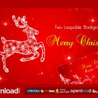 CHRISTMAS REINDEE FREE VIDEOHIVE TEMPLATE