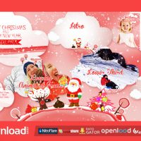 CHRISTMAS VECTOR BUNDLE FREE VIDEOHIVE TEMPLATE