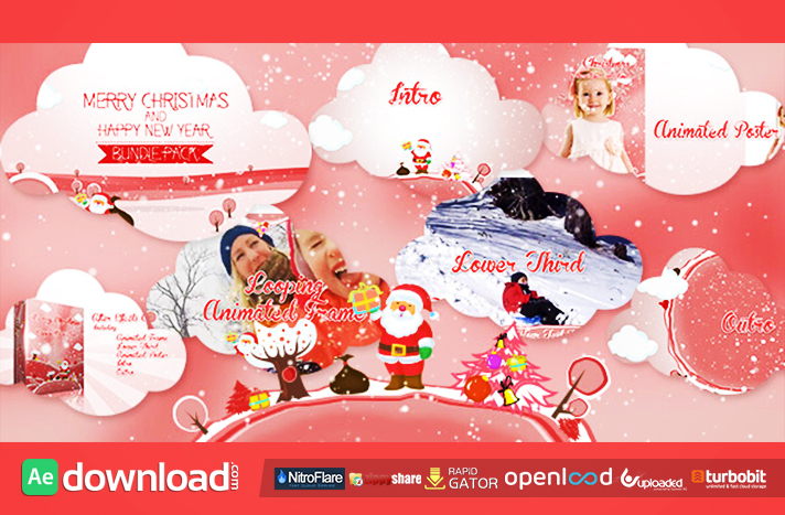 Christmas Vector Bundle free download (videohive template)