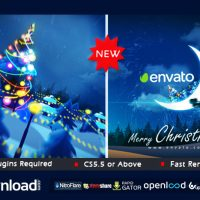 CHRISTMAS IN MOON FREE DOWNLOAD VIDEOHIVE TEMPLATE