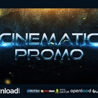 CINEMATIC PROMO TRAILER FREE DOWNLOAD VIDEOHIVE TEMPLATE