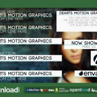 CLEAN TITLE LOWER THIRD (VIDEOHIVE PROJECT) FREE DOWNLOAD