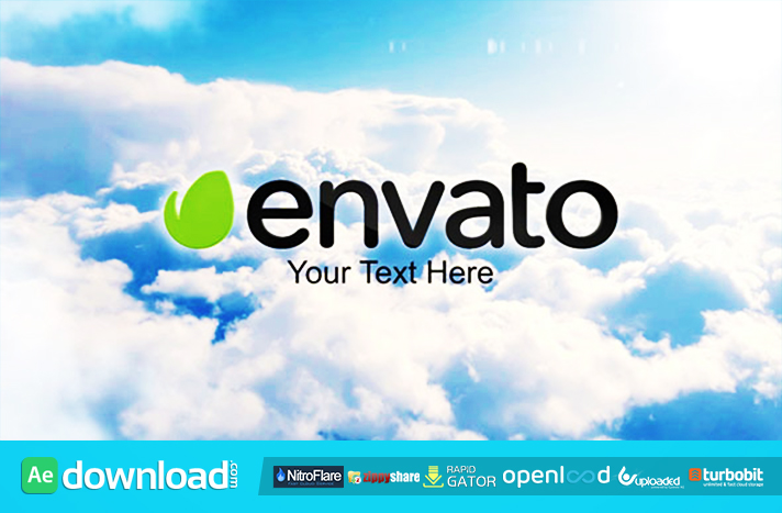 Clouds Intro free after effects templates