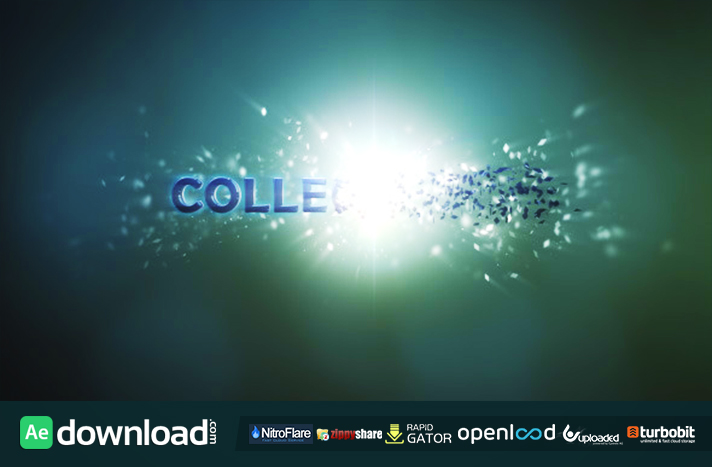 Collect logo free download (videohive template)