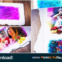 COLORFUL CHRISTMAS GALLERY (VIDEOHIVE TEMPLATE) FREE DOWNLOAD