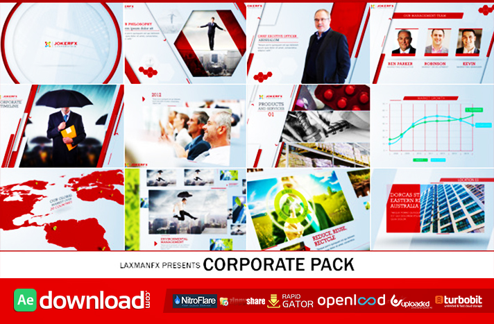 Corporate Pack free download (videohive template)