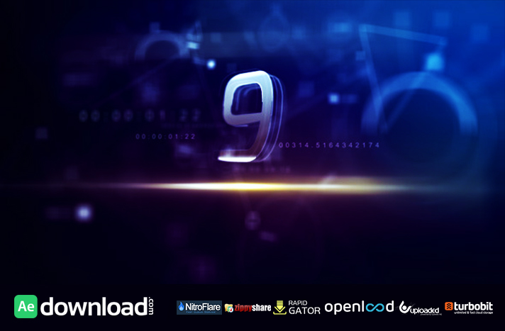 countdown free download videohive template