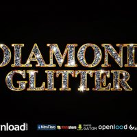 DIAMOND GLITTER TITLES VIDEOHIVE TEMPLATE FREE DOWNLOAD